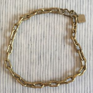 Ashley Pittman Hammered Bronze Chain